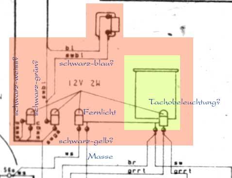 Ungewöhnlich Tacho Schaltpläne Galerie - Elektrische ...